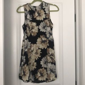 Black floral Nordstrom dress